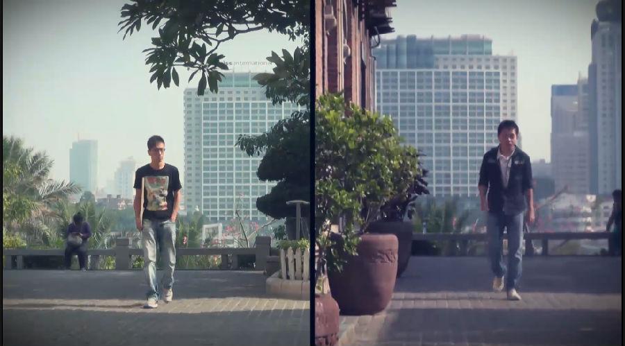 电影分屏_厦大学生分屏微电影《yours》拍摄地点:厦门鼓浪屿海景咖啡馆